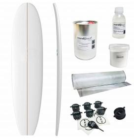 Kit shape para prancha de surf evolutivo
