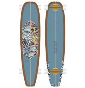 Skateboard Longboard Roxy Sunday