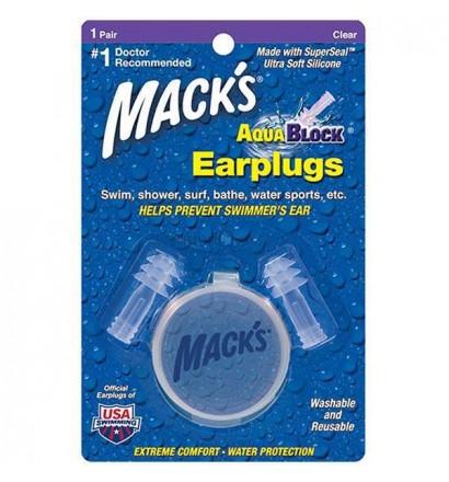 Tappi per le orecchie per navigare in Macks