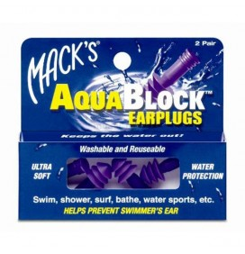 Stopfen ohren Macks AquaBlock - 2 paar