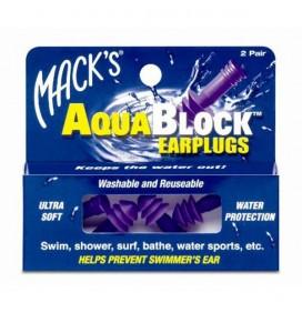 Tappi per le orecchie Macks AquaBlock - 2 paia