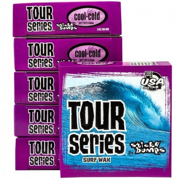 Imagén: Parafina Sticky Bumps Tour Serie