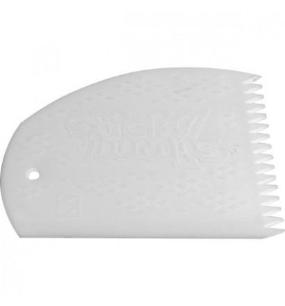 Sticky Bumps wax comb