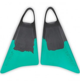 Bodyboard Fins Pride Vulcan V1 Black Grey/Emerald