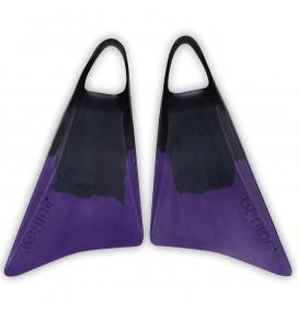 Palmes de bodyboard Pride Vulcan V1 Noir/Violet