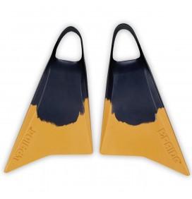 Palmes de bodyboard Pride Vulcan V1 Jaune/Noir