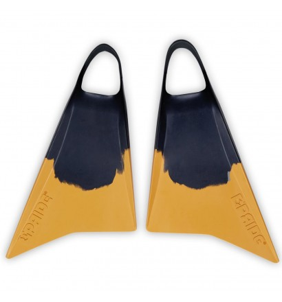 Bodyboard Fins Pride Vulcan V1 Yellow/Black