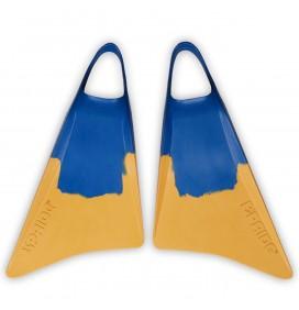Palmes de bodyboard Pride Vulcan V1 Jaune/Bleu