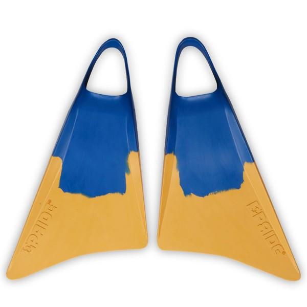Imagén: Pé de pato bodyboard Pride Vulcan V1 Azul/Amarelo