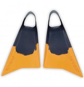 Aletas de Bodyboard Pride Vulcan V2 Gris/Amarillo