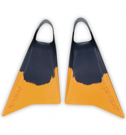 Pé de pato bodyboard Pride Vulcan V2 Cinza/Amarelo