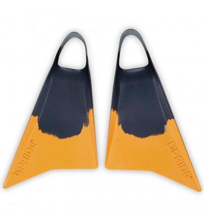 Pinne Bodyboard Orgoglio Vulcan V2 Grigio/Giallo