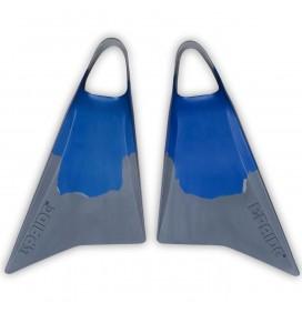 Pé de pato bodyboard Pride Vulcan V1 Azul/Cinza