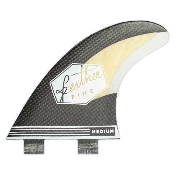 Imagén: Ailerons de surf Feather Fins Carbon Bamboo