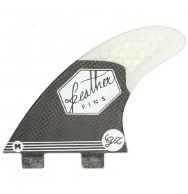 Ailerons de surf Feather Fins Gony Zubizarreta Black Edition