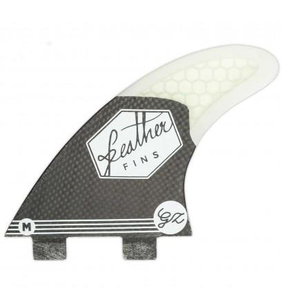 Quilhas surf Feather Fins Gony Zubizarreta Black Edition