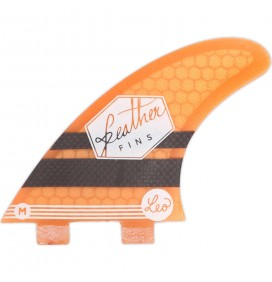 Ailerons de surf Feather Fins Leo Paul Etienne