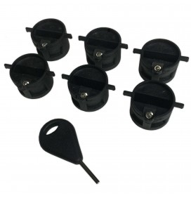 Set of 6 Plug of Fins Eurofin
