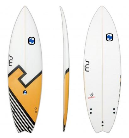 Surfbrett MS Crazy Fish