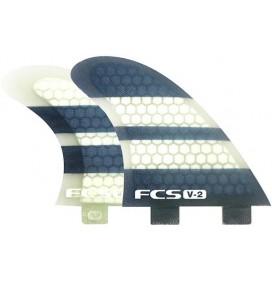 Ailerons de surf FCS V2 Quad