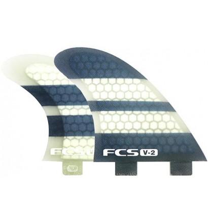 Fins FCS V2 Quad