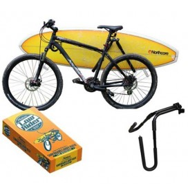 Bicycle rack for surfboards