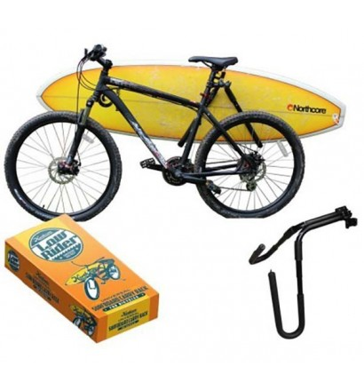 Rack bicicleta Northcore para pranchas de surf
