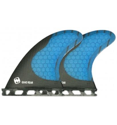 Quilhas Mundo-Surf MS-1 Carbon quad rear Futures