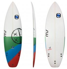 Surfboard MS Crazy Fish Squash
