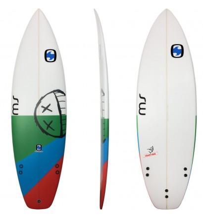 Tavola da surf MS Pazzo Pesce Squash