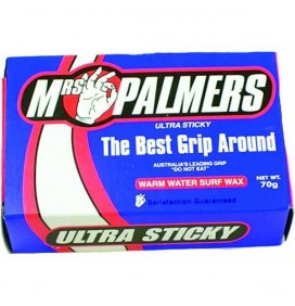 Mrs Palmers surf wax