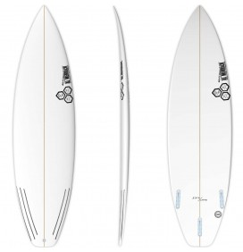 Surfplank Channel Island Zwart en Wit