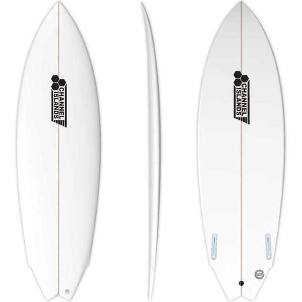 Imagén: Tabla de surf Channel Island Twin Fin