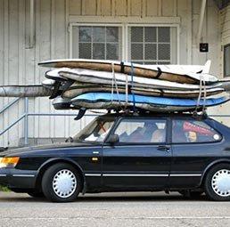 trois fa ons de transporter tes planches de surf en voiture blog mundo. Black Bedroom Furniture Sets. Home Design Ideas